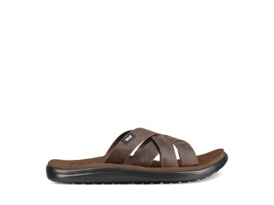 Teva M Voya Slide Leather - Sandal til mænd - Carafe