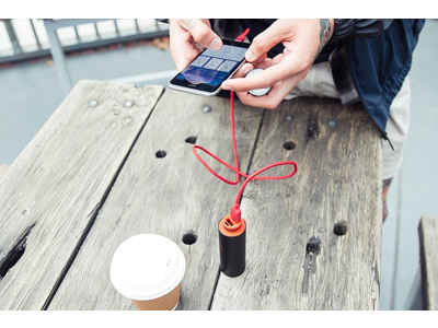 Knog - Cykellygte PWR Trail - 1000 lumen - Sort - USB opladelig - Powerbank funktion
