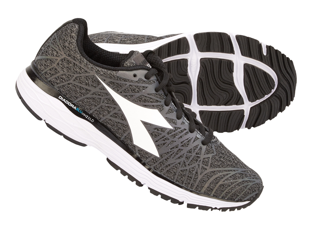 Image of   Diadora - Mythos Blushield Fly HIP 2 - Hr. - Str. 42,5 - Steel grey/Sort