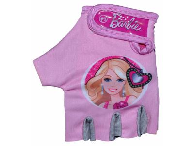 Cykelhandske til børn 4-7 år - Barbie Pink
