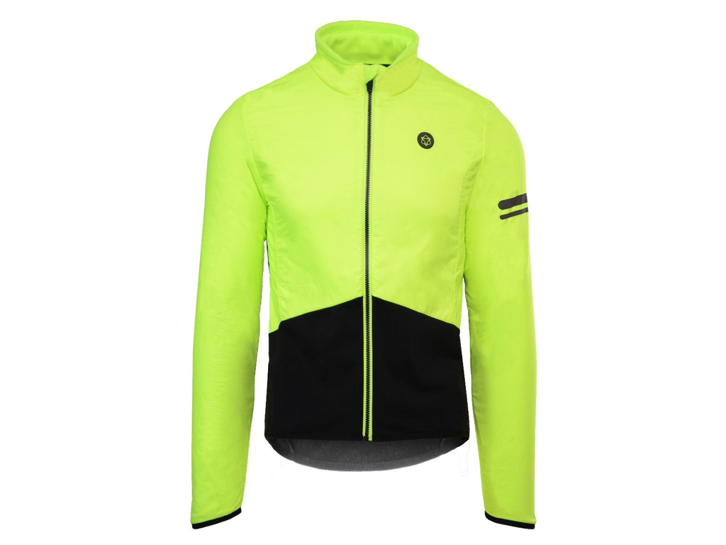 AGU Essential Thermal Cykeljakke - Gul/sort - Str. XL