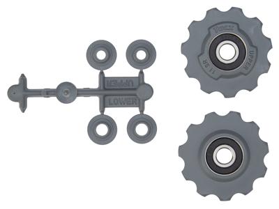 Tacx pulleyhjul til Sram Red/Force og Rival - Med rustfri maskinlejer
