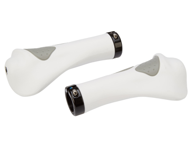 Håndtag ergomomiske udformet Hvid