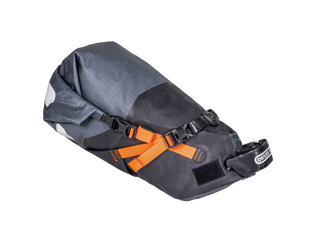 Image of   Ortlieb Seat-Pack - Bike Packing Sadeltaske - Str. M - 11 Liter - Grå/sort