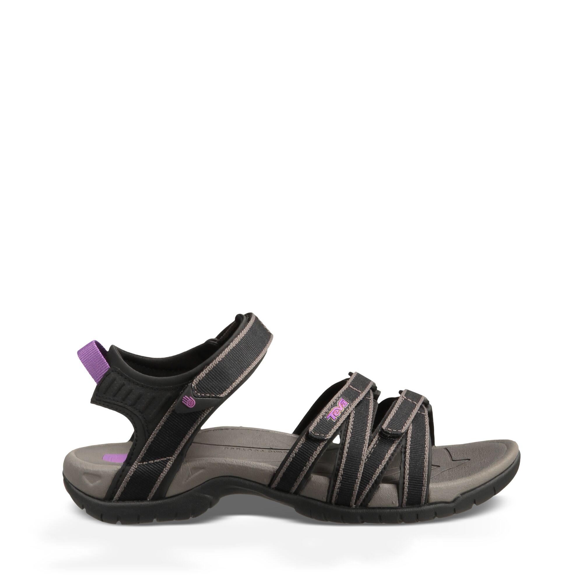Teva W Tirra - Sandal til dame - Black Grey | Shoes and overlays