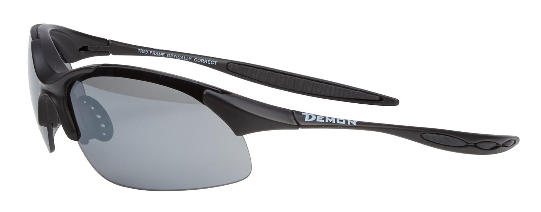Demon 832 DCHANGE - Løbe- og cykelbrille med 3 linser - Matsort   Glasses