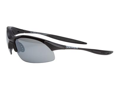 Demon 832 DCHANGE - Løbe- og cykelbrille med 3 linser - Matsort