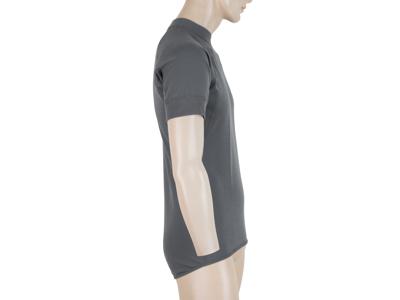 Sensor Double Face - Svedundtrøje med korte ærmer - Grå