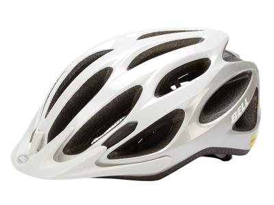 Bell Traverse Mips - Cykelhjelm - Str. 54-61 cm - Hvid/Sølv