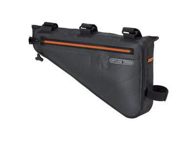 Ortlieb Frame-Pack - Bike Packing Steltaske - Str. M - 4 Liter - Grå/sort