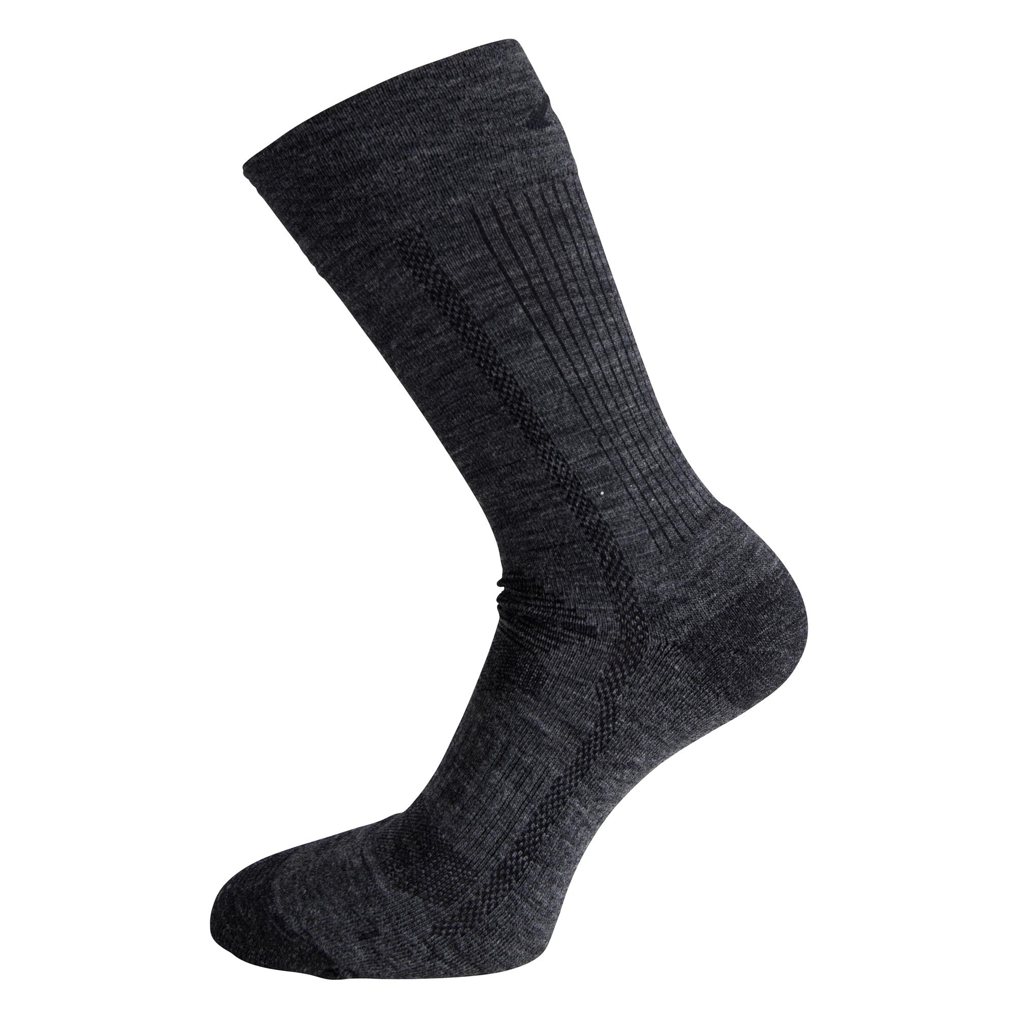 Ulvang Super - Mediumtyk uldsok - Koksgrå | Socks
