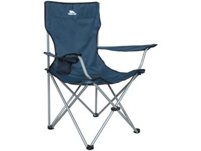 Trespass Settle - Foldbar campingstol med drinksholder - Blå