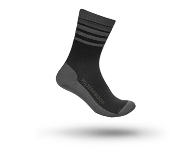 GripGrab Waterproof Merino Thermal Sock 3016 - Vandtæt Strømpe - Sort