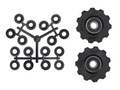 BBB pulleyhjul 11 tands med ABEC-3 lukkede lejer - Rollerboys 2 stk