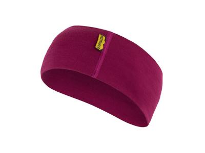 Sensor Merino Active Headband - Uld Pandebånd - Lilla - OneSize