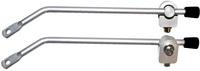 Beslag til bagagebærer 22 cm sølv | Rear rack