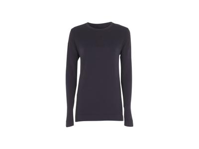 Diadora - L. T-shirt LS Techfit - Løbebluse - Dame - Sort