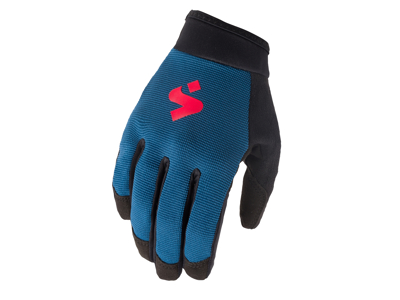 Sweet Protection Hunter Gloves JR - Junior MTB Handsker - Blå
