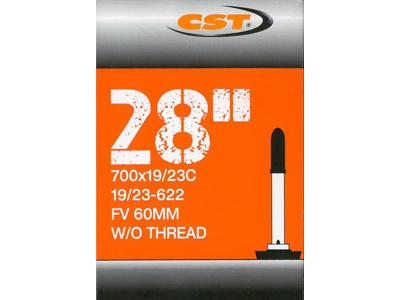 CST Slange - 700 x 19-23c - 60mm racerventil uden gevind