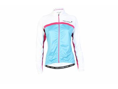Cykeltröja blå/vit/rosa Dam Modell 1100