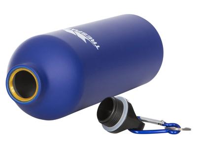 Trespass Slurp - Alu flaske - 1 liter - Mat blå