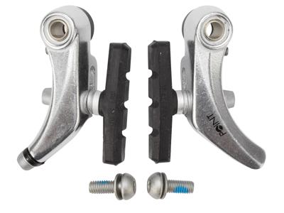 Bremseklo for Cantilever bremse sølv