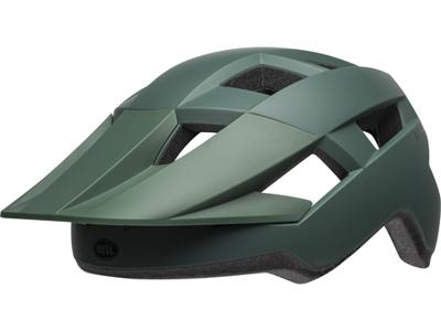 Bell Spark - Cykelhjelm - Str. 54-61 cm - Mat mørk Grøn