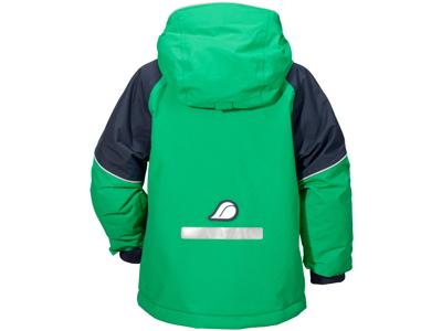 Didriksons Ese Kids Jacket - Vandtæt børnejakke m. for - Grøn