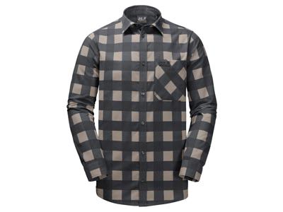 Jack Wolfskin Red River - Skjorte - Mørk grå