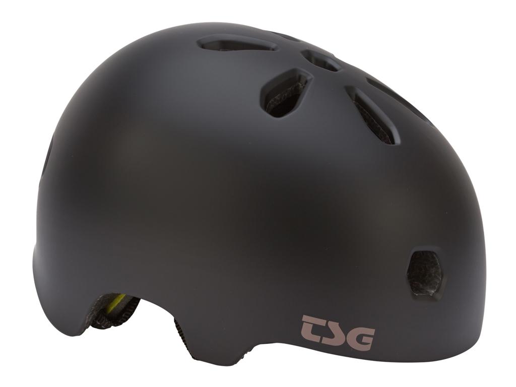 TSG Cykel- og skaterhjelm - Meta solid color - Str. 61-63 cm - Satin black thumbnail