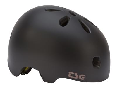 TSG Cykel- og skaterhjelm - Meta solid color - Satin black