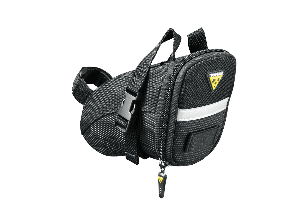 Image of   Topeak Aero Wedge Pack - Sadeltaske med stropper - Str. Small - 0,66 liter
