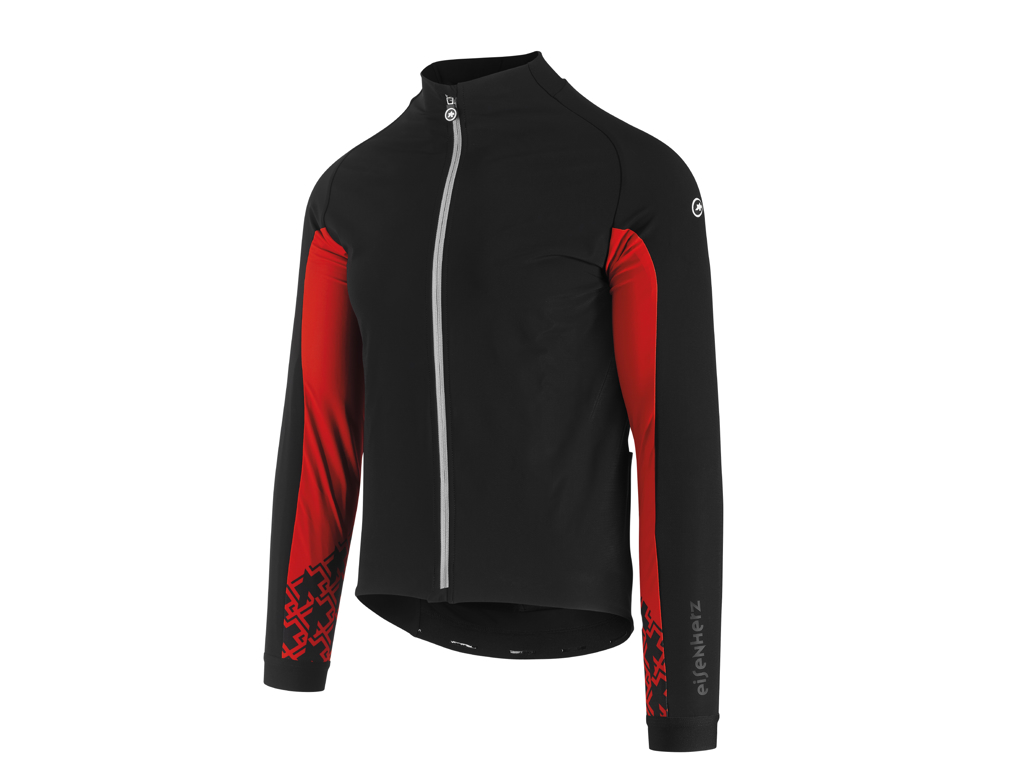 Image of   Assos Mille GT Jacket Ultraz Winter - Cykeljakke - Herre - Sort/Rød - Str. L