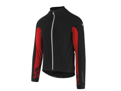 Assos Mille GT Jacket Ultraz Winter - Cykeljakke - Herre - Sort/Rød - Str. TIR