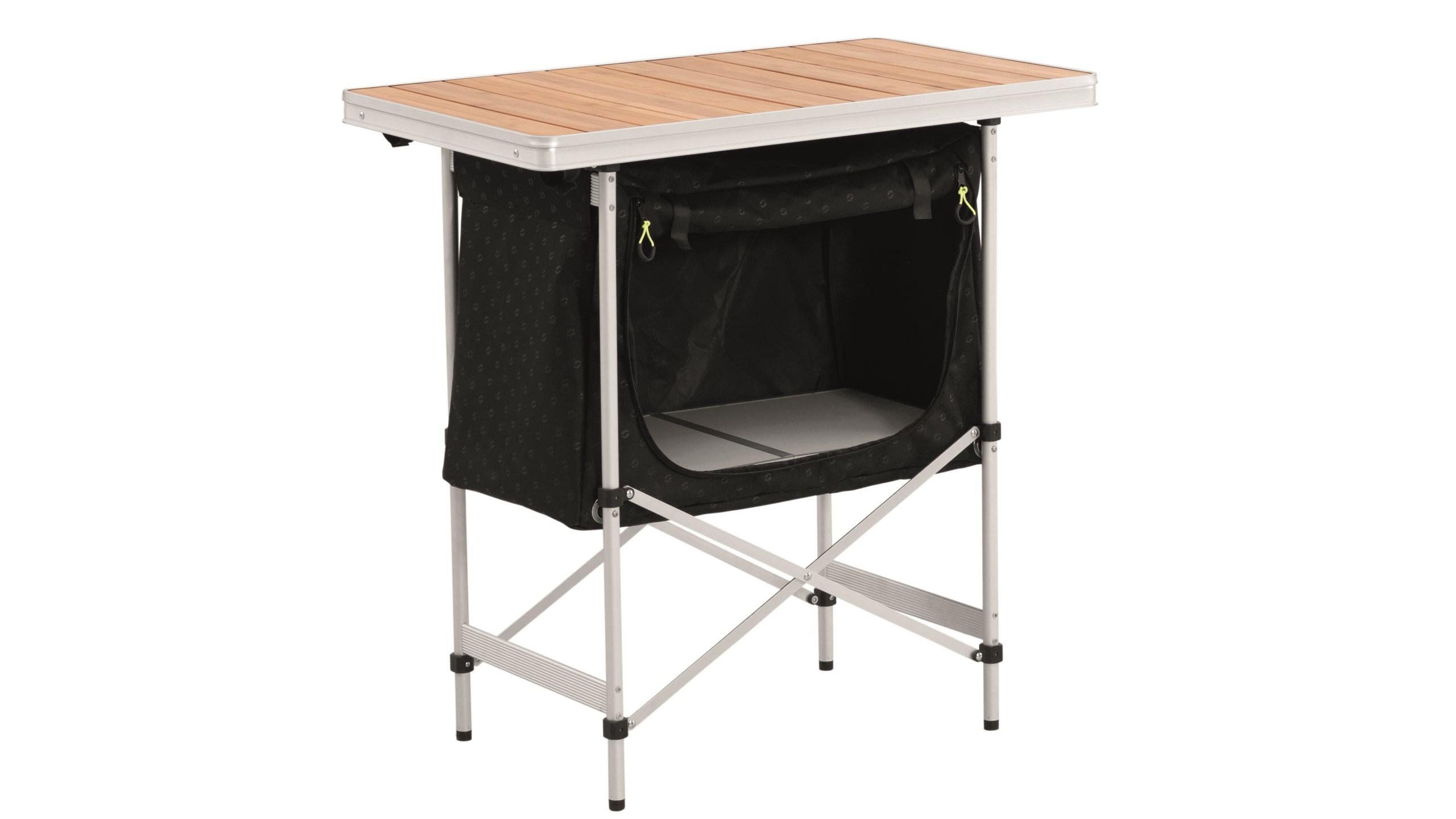 Outwell Regina - Køkkenbord - Alu stel og bambusplade | Frames
