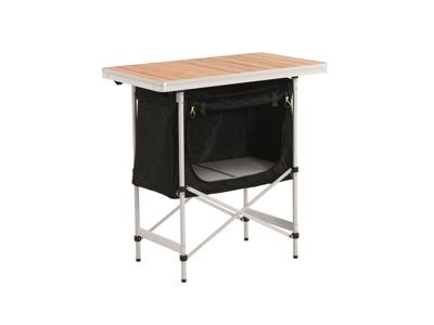 Outwell Regina - Køkkenbord - Alu stel og bambusplade