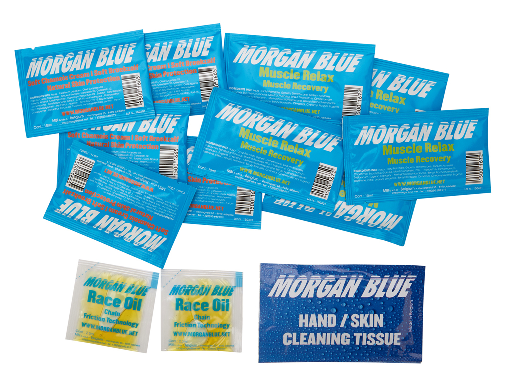 Image of   Morgan Blue Travel Kit - Olie og plejeprodukter til ferien