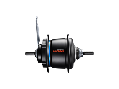 Shimano Nexus - Gearnav med 8 gear til disk bremse 5 bolt - Type SG-C6060-8CD - Sort