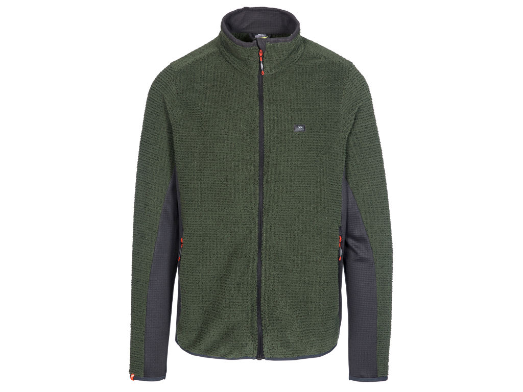 Trespass Templetonpeck - Fleece jakke - Hr. .Str. S - Thyme thumbnail