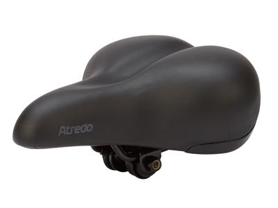 Atredo - Sadel - komfort med elastomer - Unisex D2 Base - Sort