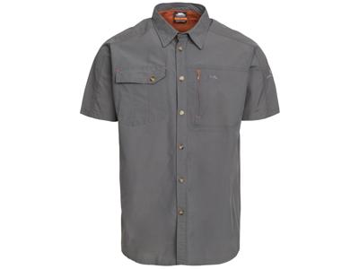 Trespass Lowrel - Moskitophobia skjorte med korte ærmer - Grå