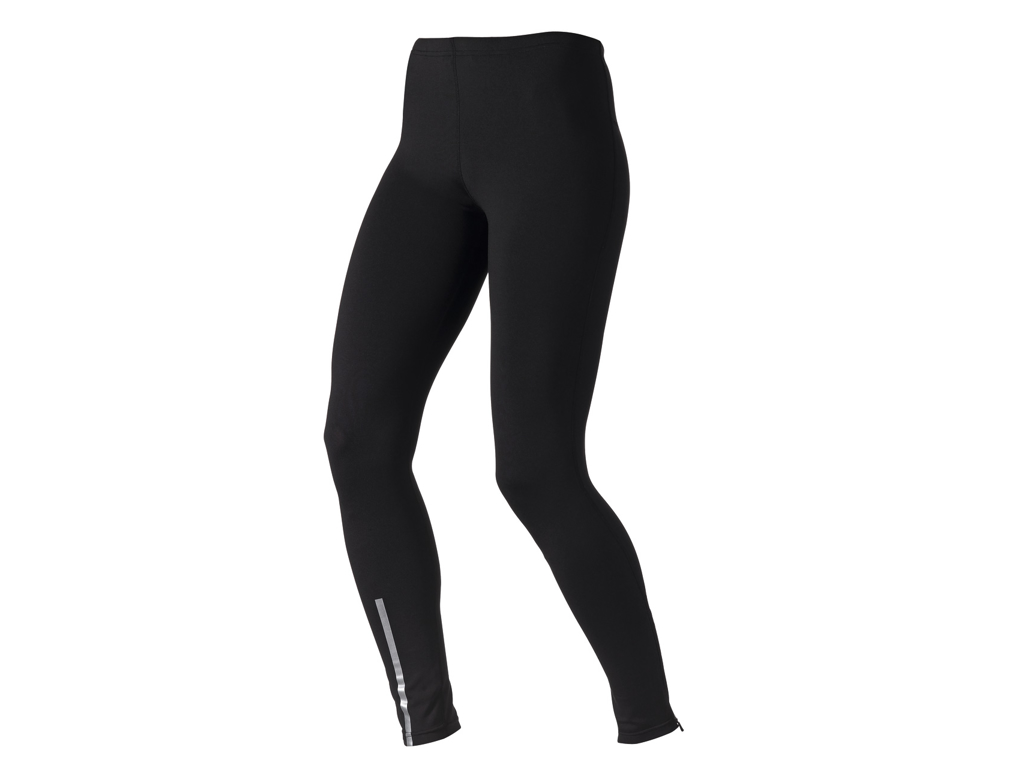 Image of   Odlo dame tights lange - SLIQ ACTIVE RUN - Sort - Str. L