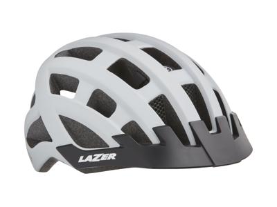 Lazer Compact DLX MIPS - Cykelhjelm Urban - Str. 54-61 cm - Mat hvid