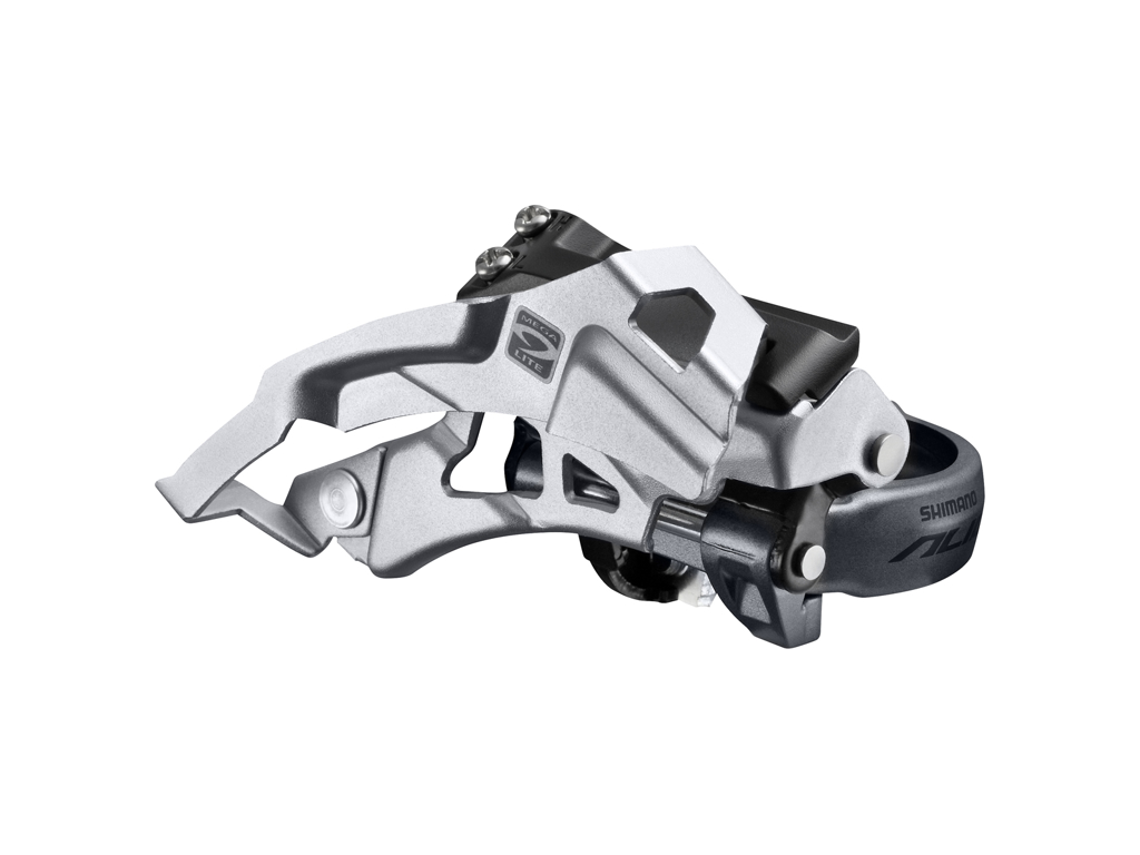 Image of   Shimano Alivio - Forskifter FD-M4000 - 3x9 gear MTB - Low clamp med bånd - 28,6-34,9mm