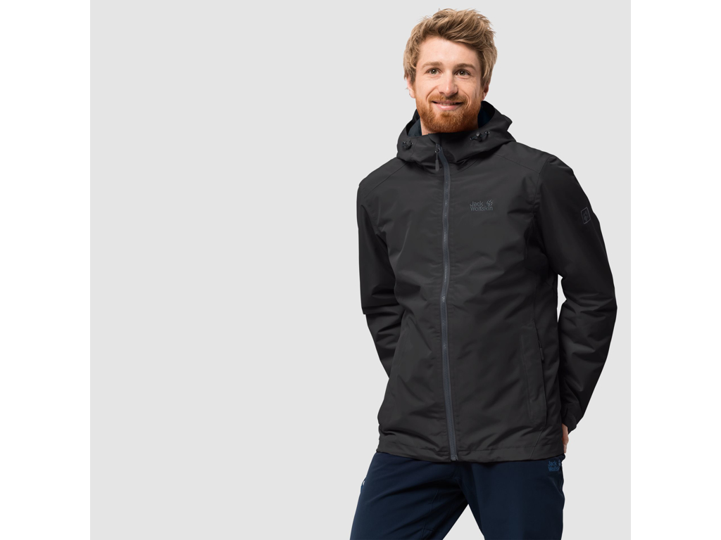 Jack Wolfskin Chilly Morning Men Vandtæt herrejakke m. for