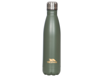 Trespass Caddo - Aluminiums Termoflaske - 500ml - Oliven