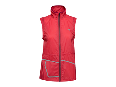 Diadora L. Vest - Running Vest Women - Red