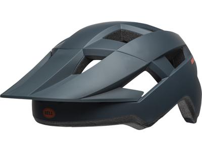 Bell Spark - Cykelhjelm - Str. 54-61 cm - Mat Slate/Orange