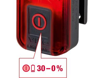 VDO Eco Light M30 - Lyktesett - USB Oppladbar - 30 LUX