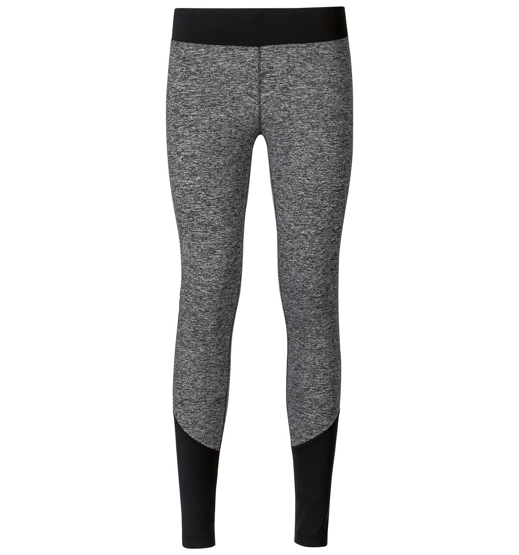 Odlo dame tights - Warm Maget - Sort melange | Trousers